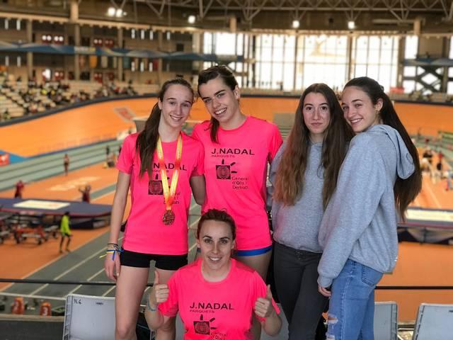 Aida Alemany (JAA), tercera al Campionat d'Espanya de 1.500 m/ll