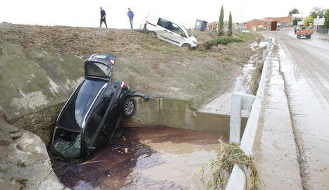 Arbeca demana recréixer un túnel per evitar inundacions