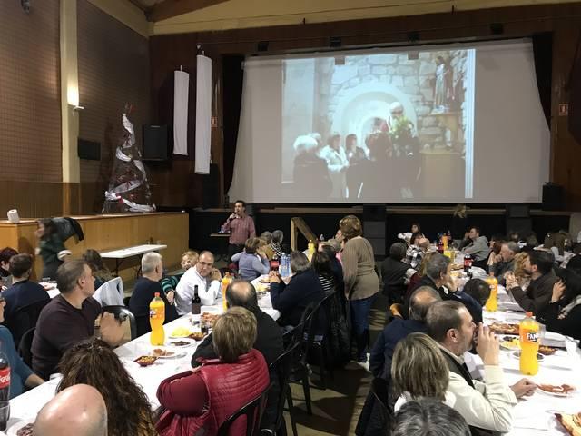 Castelldans celebra un sopar amb les associacions del poble