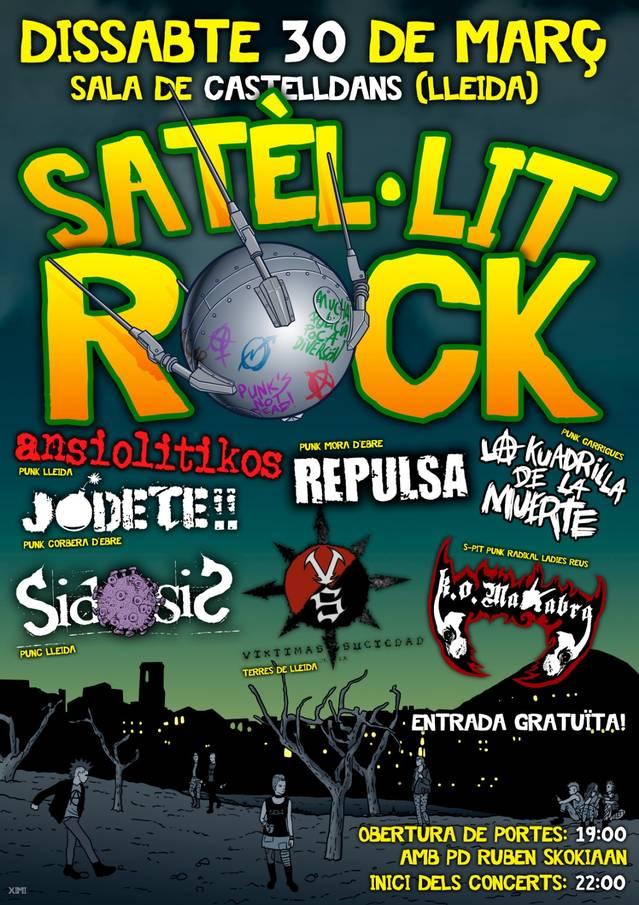 Castelldans prepara un concert amb grups punk de Lleida i Tarragona