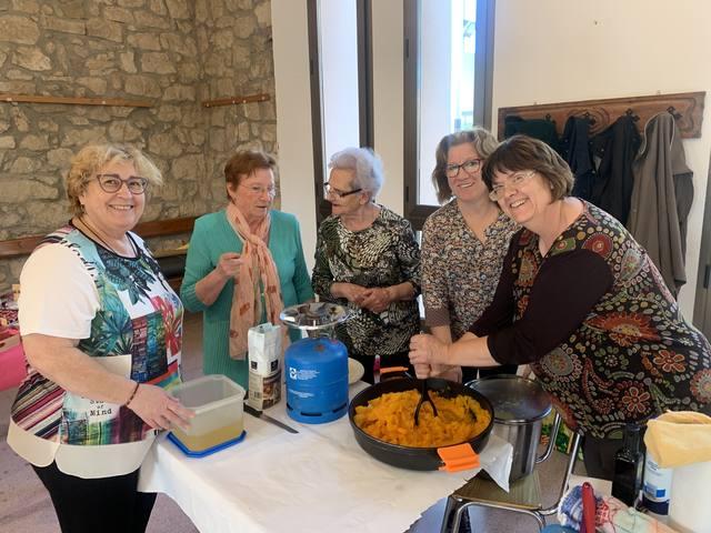 Celebració del dia de la dona rural a Castelldans