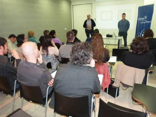 Comencen les càpsules formatives per a empreses al CEI de les Borges