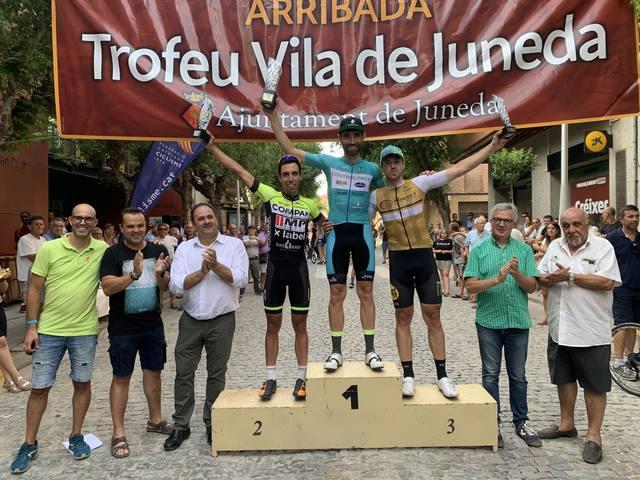 Darrer dia de Festa Major a Juneda amb la Cursa Ciclista
