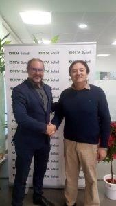 DKV renova el patrocini del primer equip del Club de Tennis Taula Borges