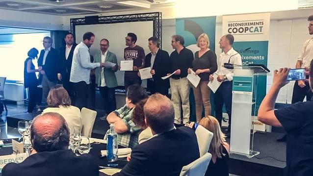 Dues cooperatives de les Garrigues, guardonades als primers premis CoopCat
