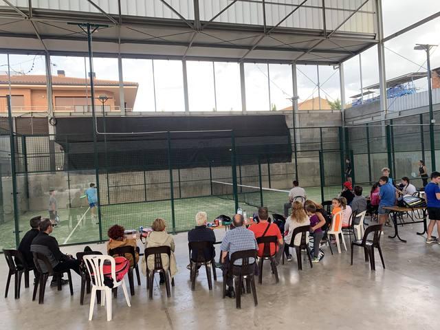 El Club Pàdel Castelldans celebra el seu primer aniversari