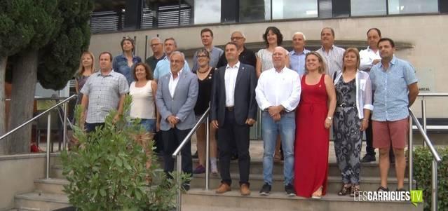 El Consell Comarcal dóna suport a la concentració en defensa de la pagesia