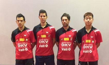 El DKV Borges Vall disputa, aquest cap de setmana, la segona ronda de l'ETTU Cup