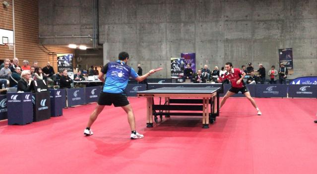 El DKV Borges Vall perd per 3 a 0 davant l'Istres Tennis Table
