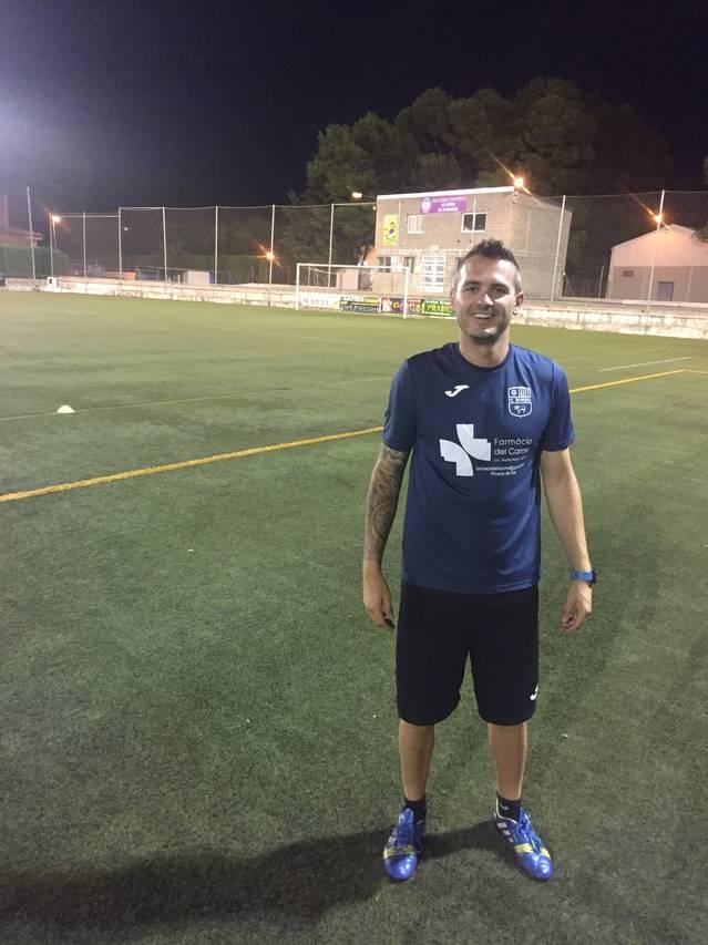El FC Borges incorpora un entrenador de porters