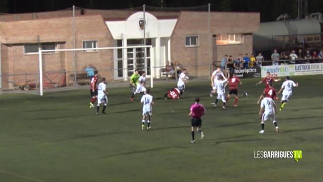 El FC Borges s'endú el derbi contra l'EFAC Almacelles