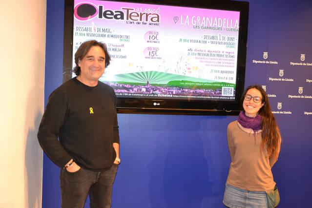 El Festival Oleaterra torna a La Granadella els dies 4 de maig i 1 de juny