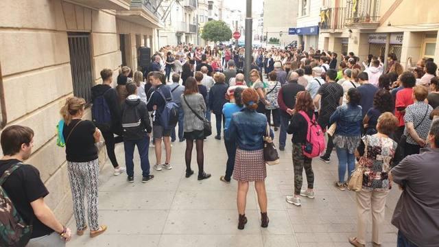 El ple de les Borges rebutja i condemna la sentència per unanimitat
