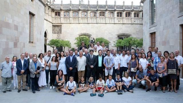 El president Puigdemont rep el DKV Borges Vall