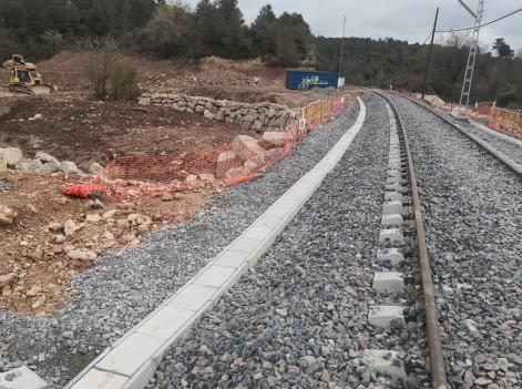 El pròxim 14 d'abril es restablirà la circulació ferroviària de Lleida-Valls i Tarragona-Barcelona