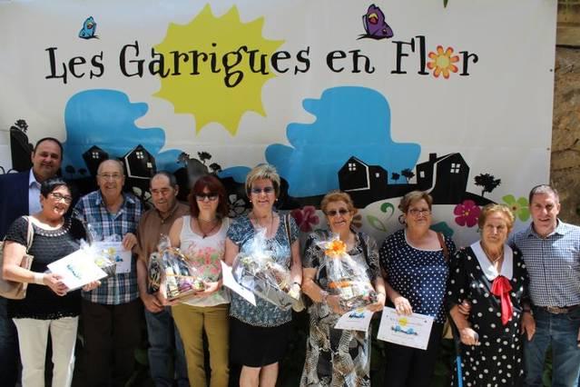 El raval de les Flors, de Vinaixa, guanyador del concurs 'Les Garrigues en Flor'