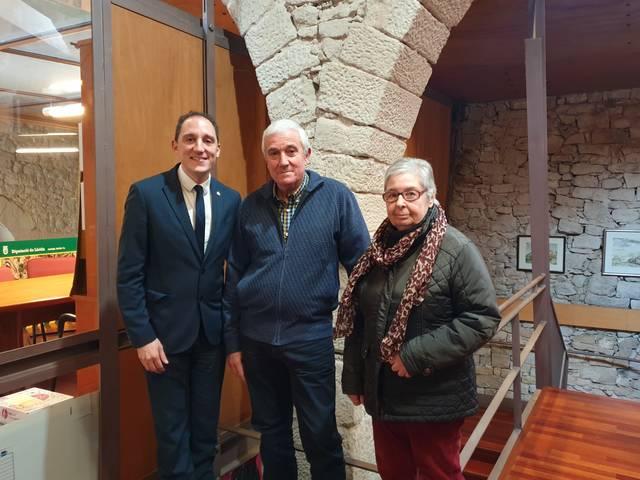 El subdelegat del Govern es reuneix amb els alcaldes de La Pobla de Cérvoles i de Fulleda