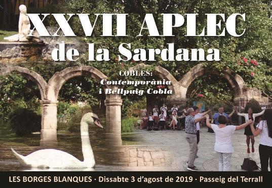El Terrall acollirà l'última edició de l'aplec de la sardana de les Borges Blanques