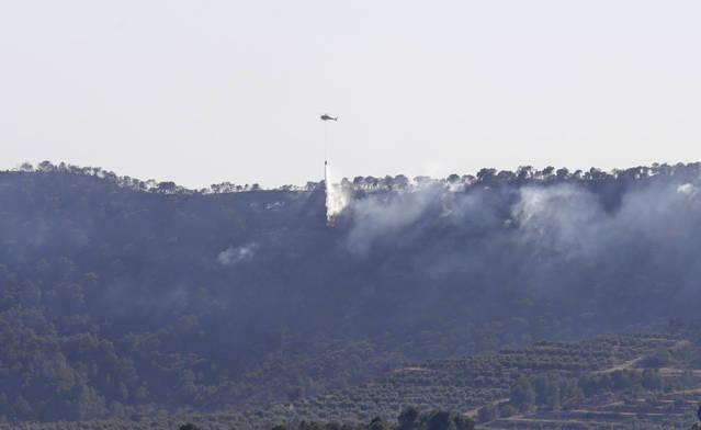 Els afectats  per l'incendi  del juny  tallaran la C-12