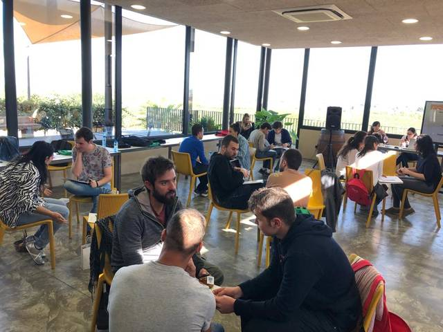Els joves emprenedors de les Garrigues es bolquen en la 1a jornada Enxarxa't-Edició Jove, una iniciativa per crear sinèrgies empresarials