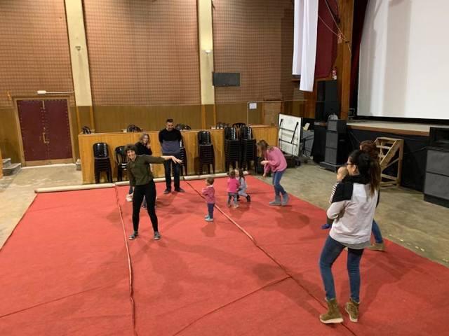 Els més petits de Castelldans aprenen música