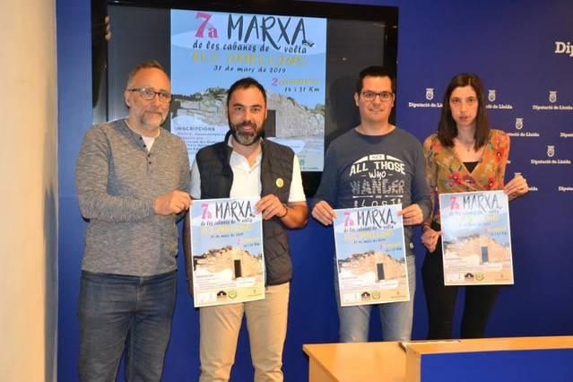 Els Omellons prepara la 7a edició de la Marxa de les Cabanes de Volta