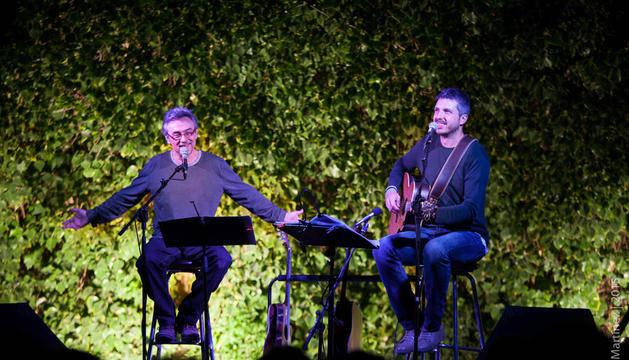 Els valencians Joan Amèric i Andreu Valor, a duo a l'Slàvia