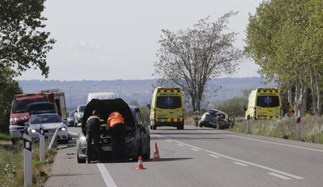"""Exigeixen a Foment construir les rotondes de l'N-240 a Juneda """"amb urgència"""""""