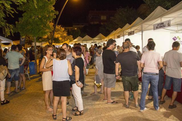 Èxit de públic a la Primera Fira Tastavins a Juneda