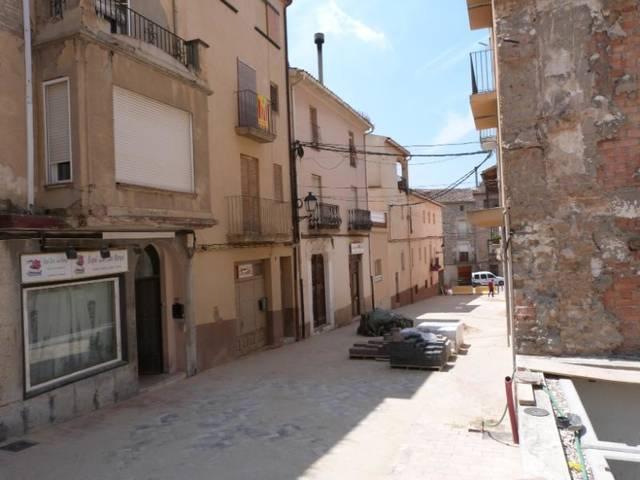 Finalitzen les obres del carrer Carnisseria de les Borges Blanques