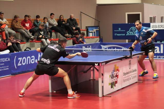 Gran victòria 4-1 de l´ASISA Borges Vall davant l´universidad de Burgos