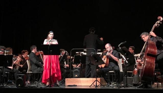 Juneda gaudeix dels fados de Névoa en versió orquestral