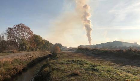 Juneda i Barcelona superen el valor límit diari de partícules PM10