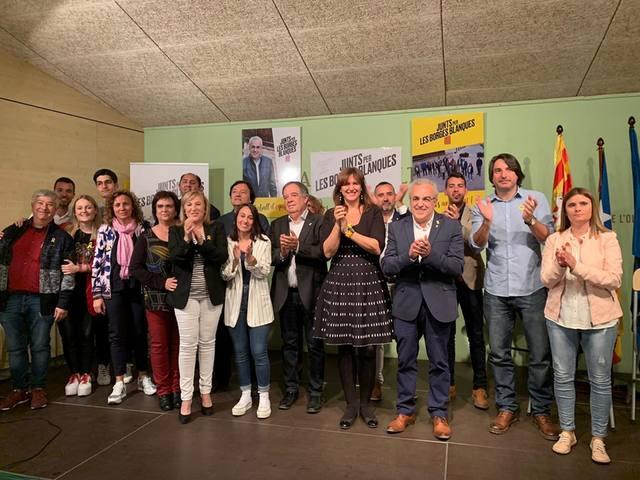 Junts per les Borges Blanques presenta la seva candidatura amb 5 noves incorporacions