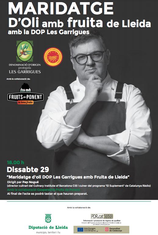 La DOP Les Garrigues presenta el Passeig de l'Oli a la Fira Sant Miquel