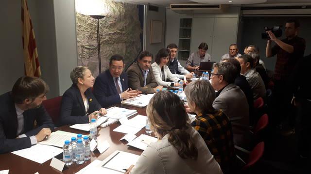 La Generalitat posa a l'abast dels afectats pel temporal eines de finançament per atendre les necessitats de les persones i restituir la capacitat productiva del territori