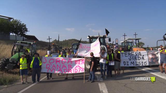 La plataforma d'afectats pel foc de la Ribera d'Ebre anuncien noves mobilitzacions