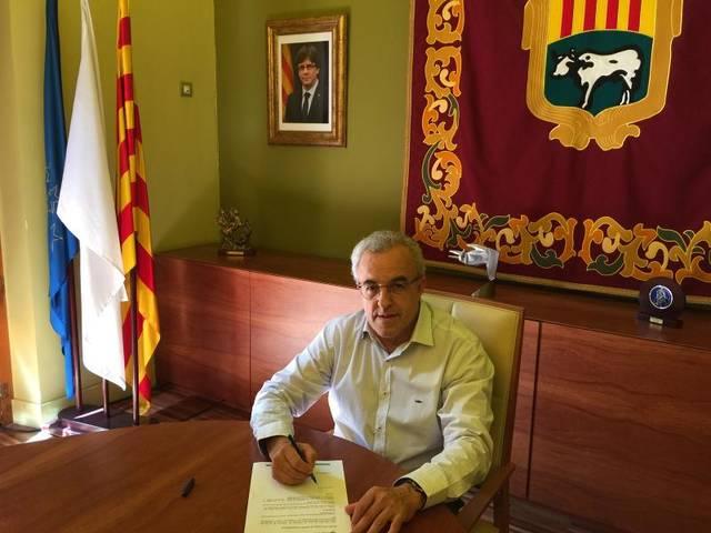 L'Ajuntament de les Borges Blanques, amb el referèndum