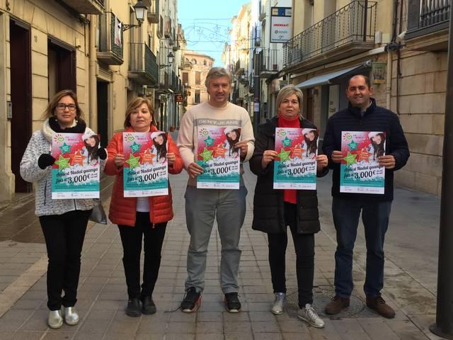 L'Agrupació de Comerciants de les Borges sorteja 3.000 euros en vals de compra