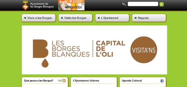 L'Ajuntament de les Borges adjudica la creació d'una nova web més moderna, eficient i amb majors prestacions als usuaris