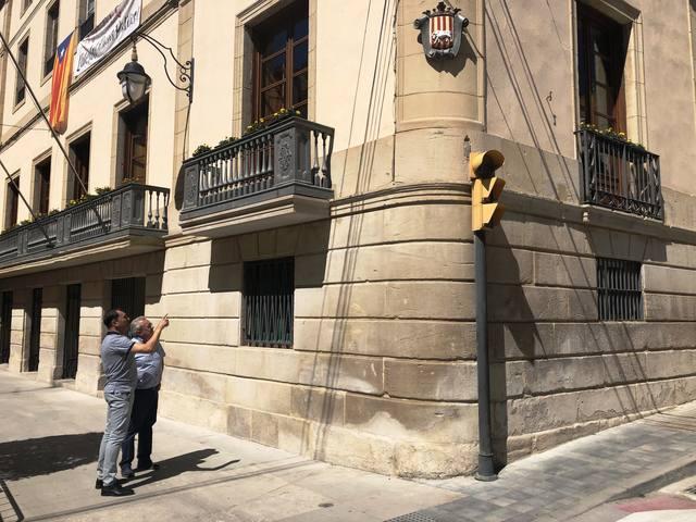 L'Ajuntament de les Borges Blanques ha finalitzat els treballs de restauració de la façana del consistori