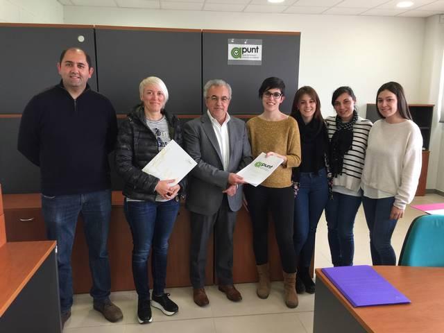 L'Ajuntament de les Borges signa un conveni amb l'Associació Talma per a facilitar la inserció laboral de persones amb risc d'exclusió