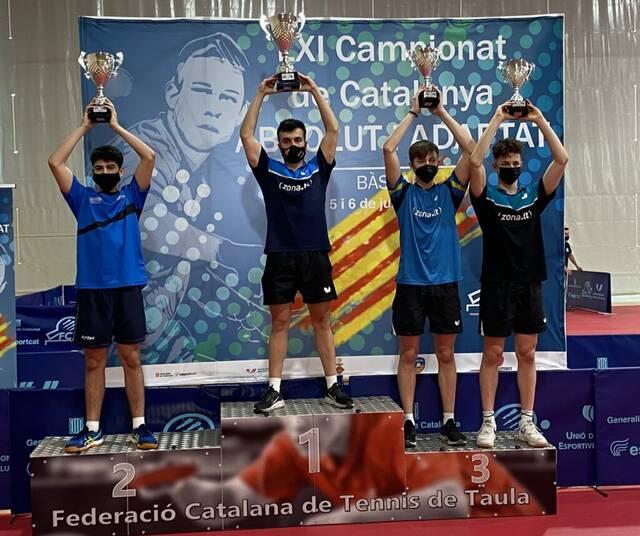 L'Asisa Borges Vall és subcampió de Catalunya