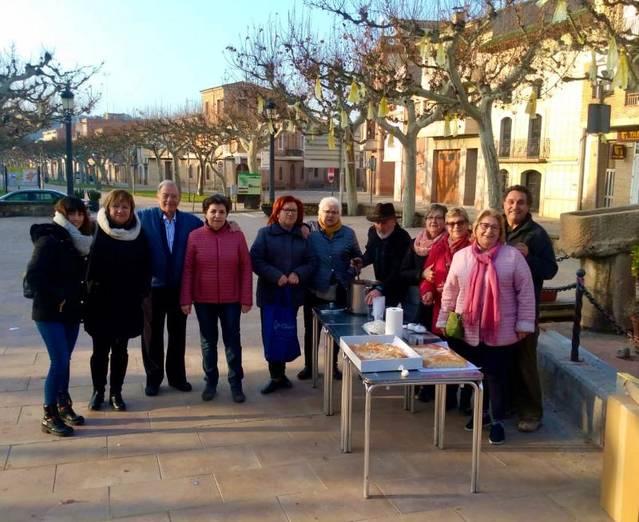 L'Associació de Dones de Castelldans ha celebrat Santa Àgueda