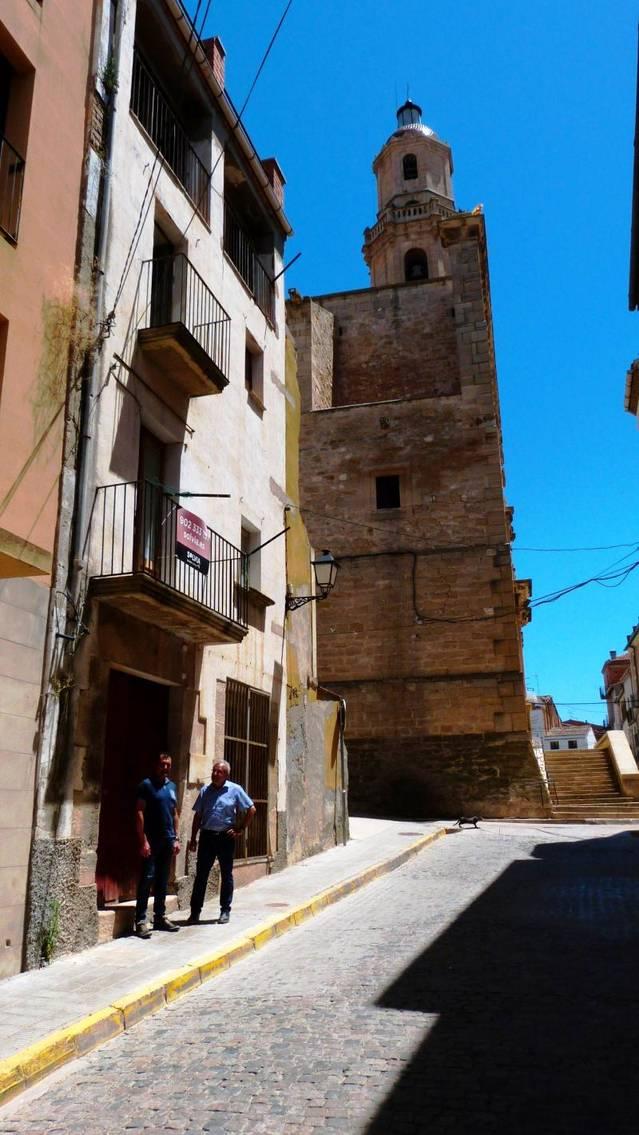 Les Borges adquireix el solar del carrer Carnisseria continuar amb les obres de millora del Centre Històric