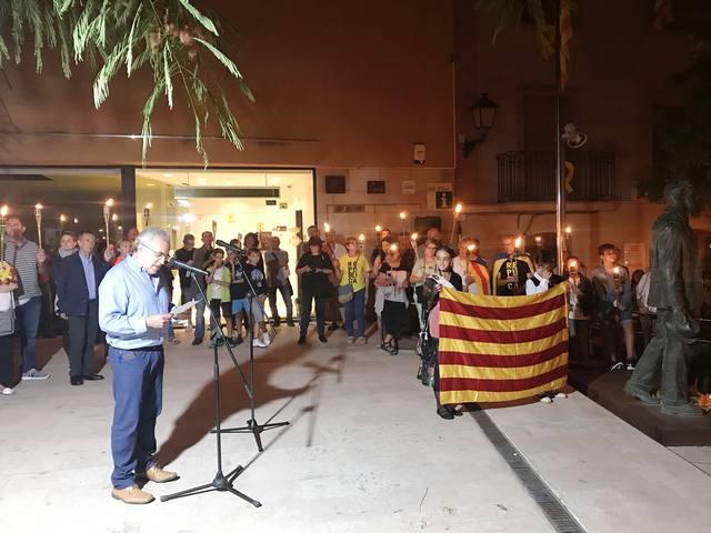 Les Borges celebra la 8a Marxa de Torxes per la República