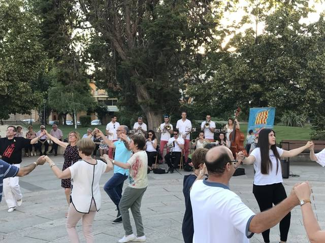 Les Borges celebra la XXVI edició de l'Aplec de la Sardana
