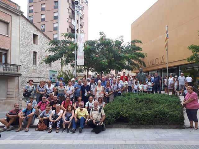 Les Borges rep aquest dissabte la visita de més 400 persones