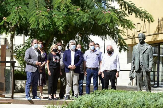Les Borges rep la visita dels diputats i diputades de Junts per portar les necessitats del territori al Parlament