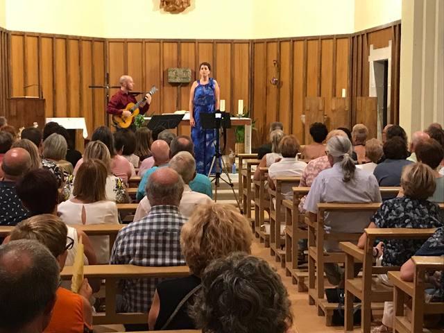 """L'església de Sant Miquel de Granyena acull el concert """"Cançons de maig"""""""
